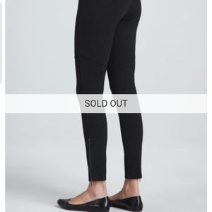 Eileen Fisher ankle zip ponte pant